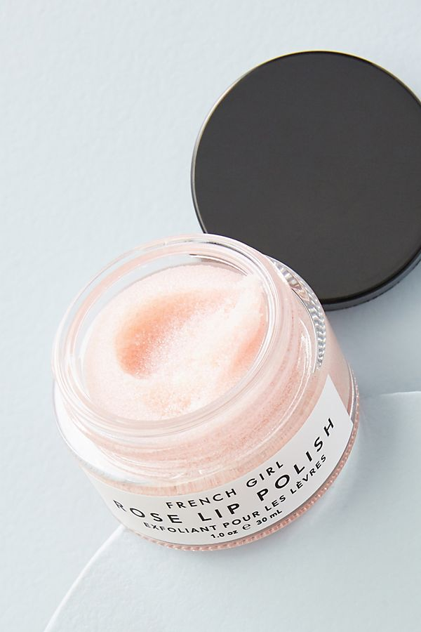 French Girl Organics Rose Lip Polish | Anthropologie
