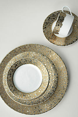 Slide View: 2: Caskata Ellington Shimmer Salad Plate