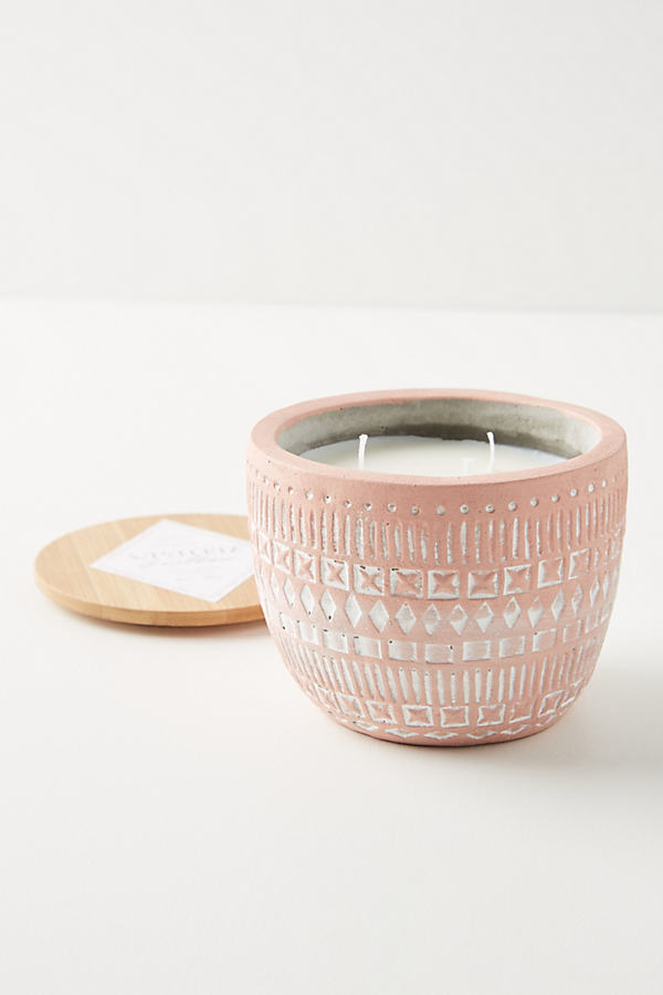 Paddywax Sonora Candle - Pink