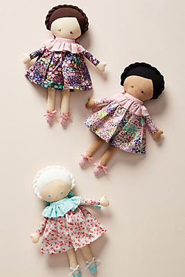 Slide View: 3: Little Girl Doll