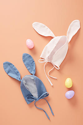 Slide View: 2: Easter Bunny Baby Hat