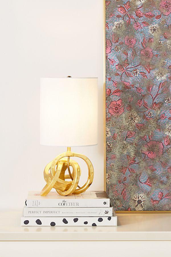 Slide View: 1: Mini Knot Table Lamp