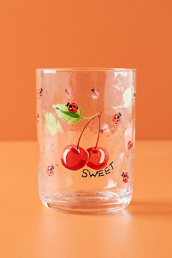 Gia Juice Glass - Red, Size Juice