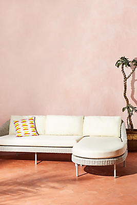 Slide View: 1: Lilith Chaise Sectional, Right