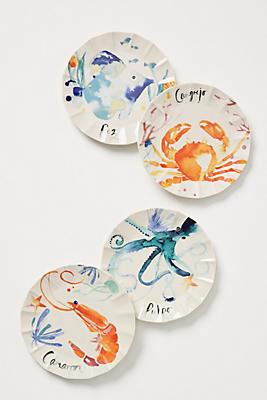 Slide View: 2: Sarah Hankinson Canape Plate