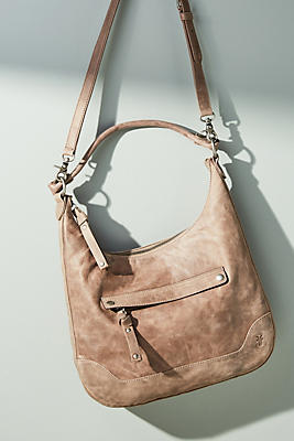 Slide View: 1: Frye Melissa Slouchy Zip-Top Bag