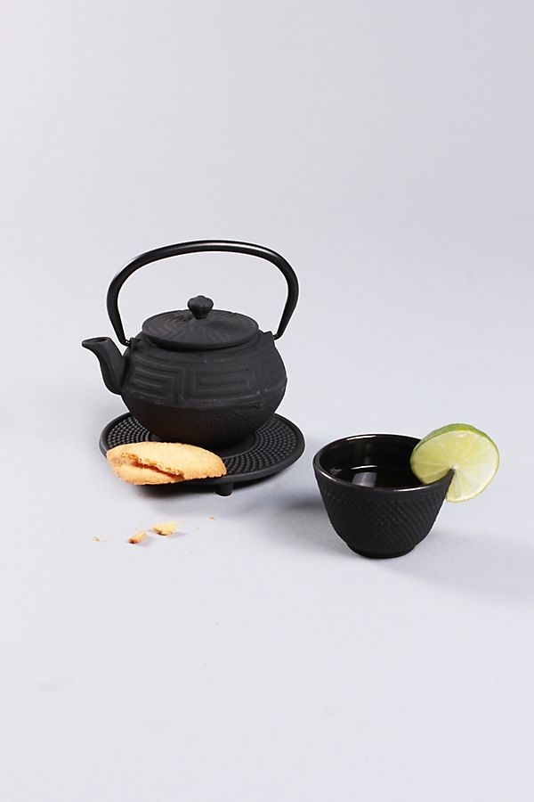 Slide View: 1: BergHOFF Studio 5-Piece Cast Iron Tea Pot Set