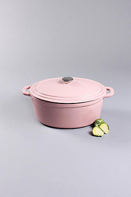 Slide View: 1: BergHOFF Neo Cast Iron Oval Cov Casserole