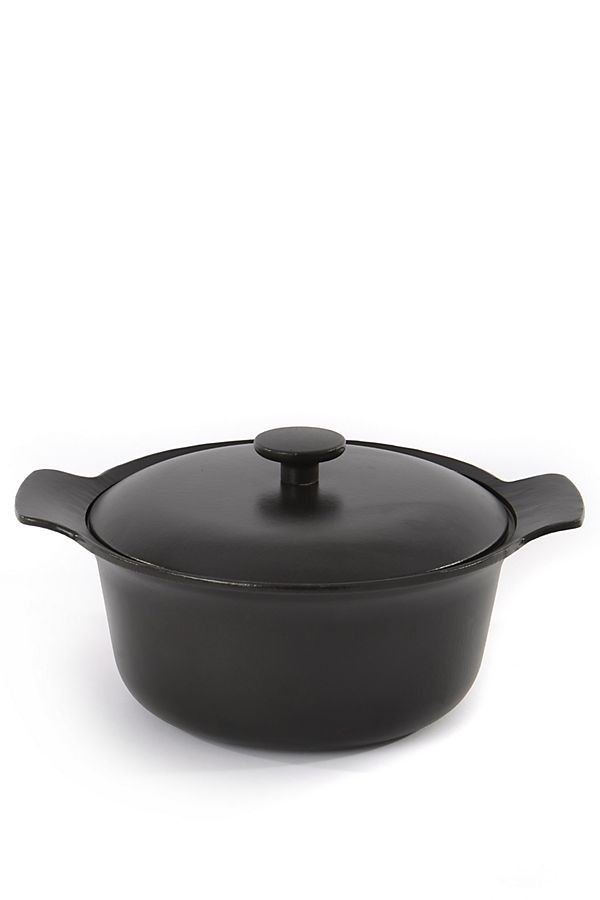 berghoff ron cast iron covered stockpot anthropologie