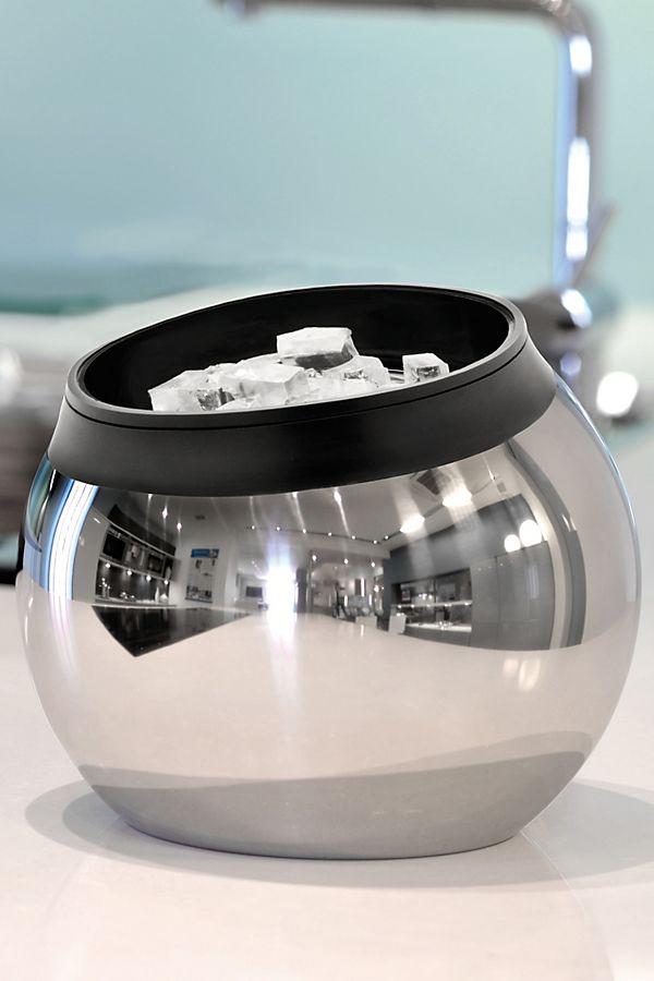 Slide View: 1: BergHOFF Zeno 18/10 Stainless Steel Ice Bucket