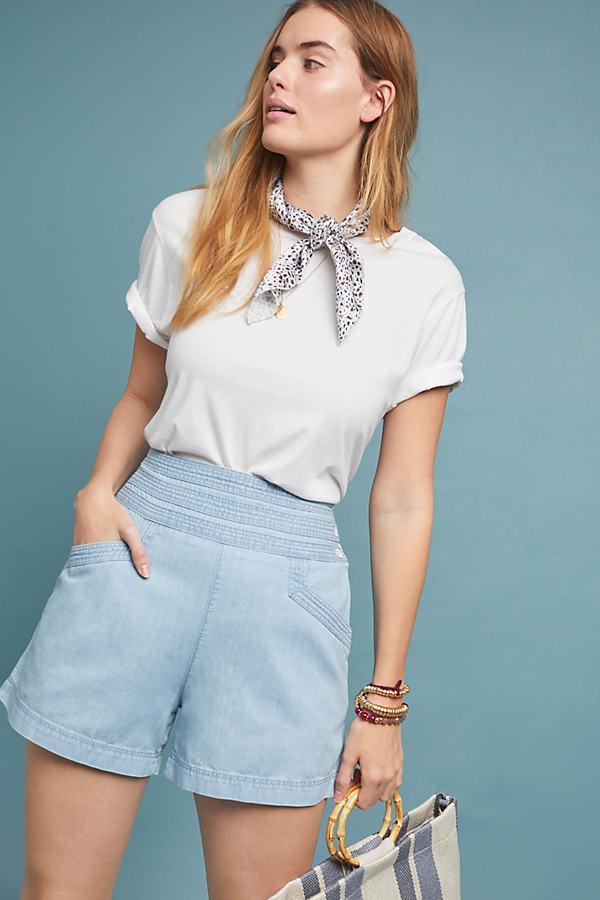 Harbour Shorts - Blue, Size Uk 14