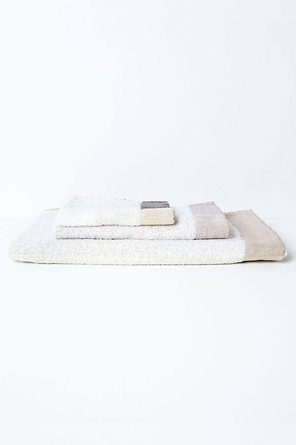 Slide View: 1: Kontex Palette Towel, Taupe