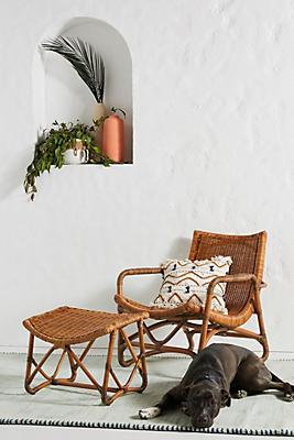 Slide View: 1: Bodega Lounge Chair & Ottoman