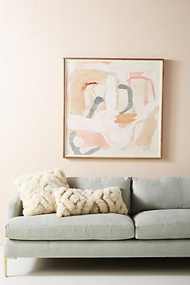 Slide View: 1: Camlo Blush Wall Art