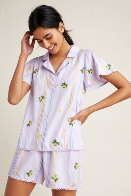 2a2a1ced21f Lemon-Embroidered Sleep Top  78