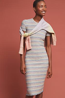 Slide View: 1: Sundry Midi Tee Dress