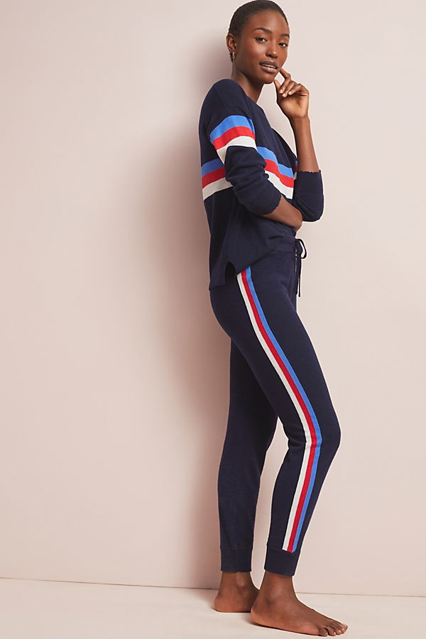 Slide View: 1: Sundry Striped Sweater Pants
