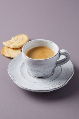 Glenna Espresso Cups & Saucers 4pk
