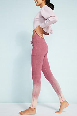 Slide View: 1: Free People Movement Ombre Kyoto Leggings