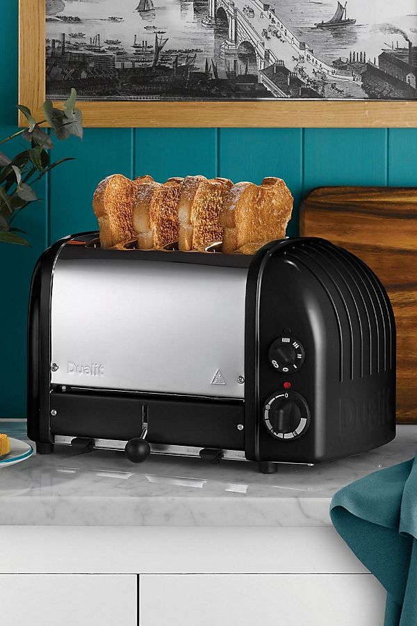 Slide View: 1: Dualit 4-Slice NewGen Toaster