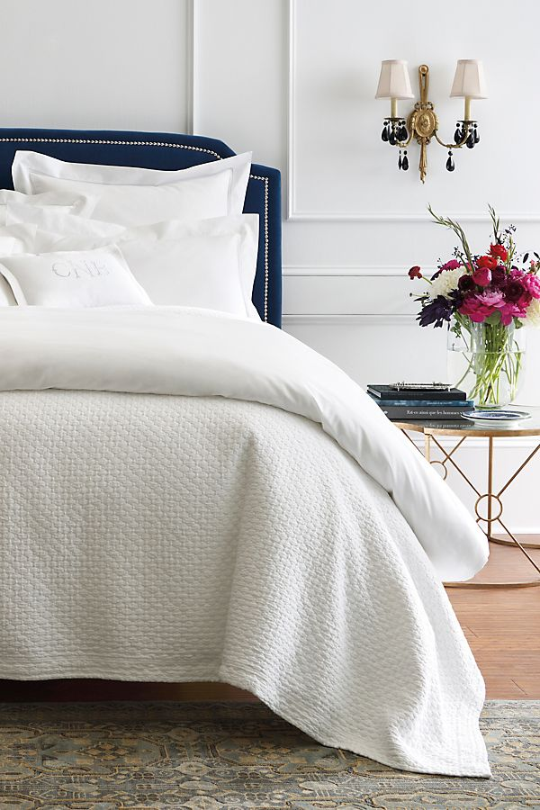Slide View: 1: Peacock Alley Juliet Coverlet