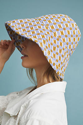 Slide View: 1: Floral Bucket Hat
