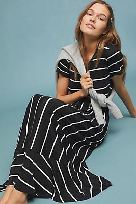 Slide View: 1: Salida Striped Maxi Dress