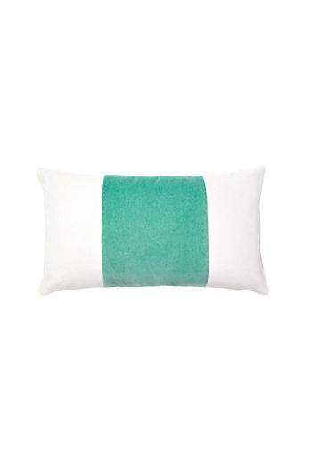 664da62d7 Caitlin Wilson Vert Velvet Broad Stripe Pillow