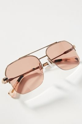 f6104fa7687 Ray-Ban Geometric Aviator Sunglasses