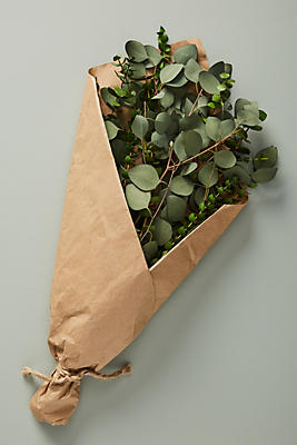 Slide View: 1: Dried Eucalyptus Bouquet