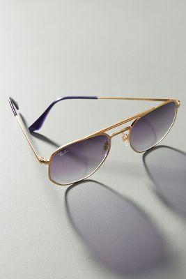 7f9e48f2364 Ray-Ban Geometric Aviator Sunglasses  178