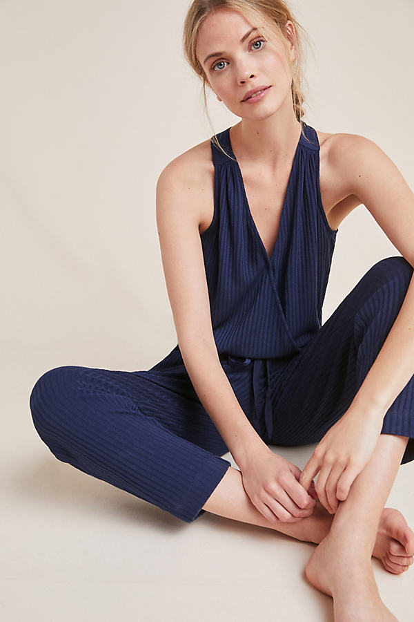 Juniper Jumpsuit - Navy, Size M