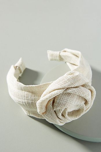 Lydia Rosette Knotted Headband c1a01348eb8