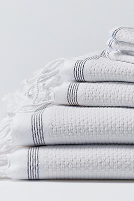 Slide View: 1: Coyuchi Mediterranean 6pc Towel Set