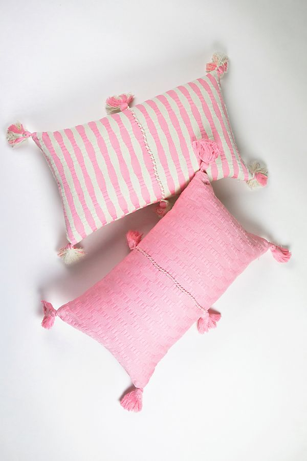 Slide View: 1: Archive New York Baby Pink Antigua Pillow