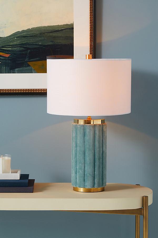 Marilyn Velvet Table Lamp