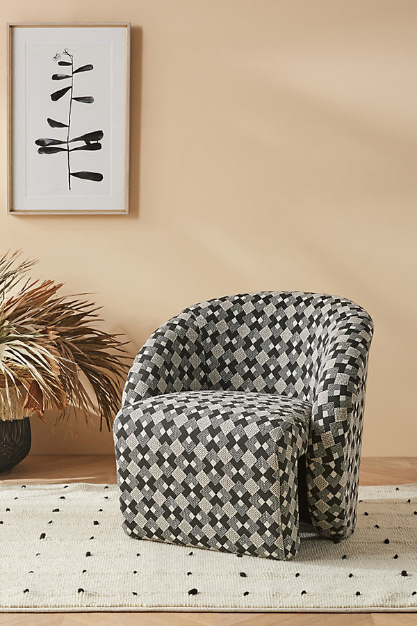 Soho Home x Anthropologie Augustus Chair - Black