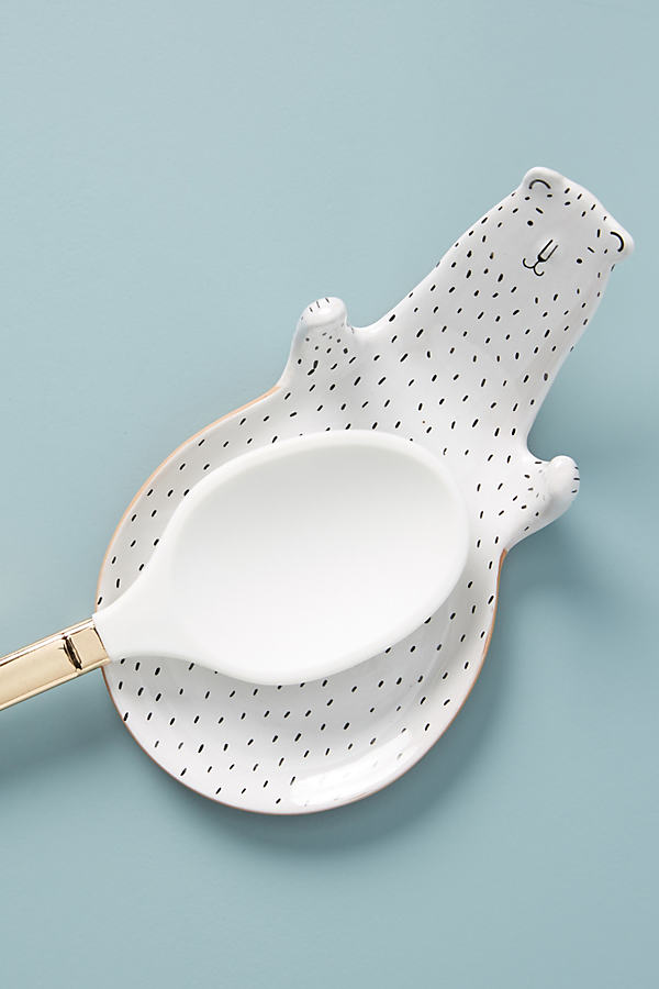 Ariya Ceramic Bear Spoon Rest