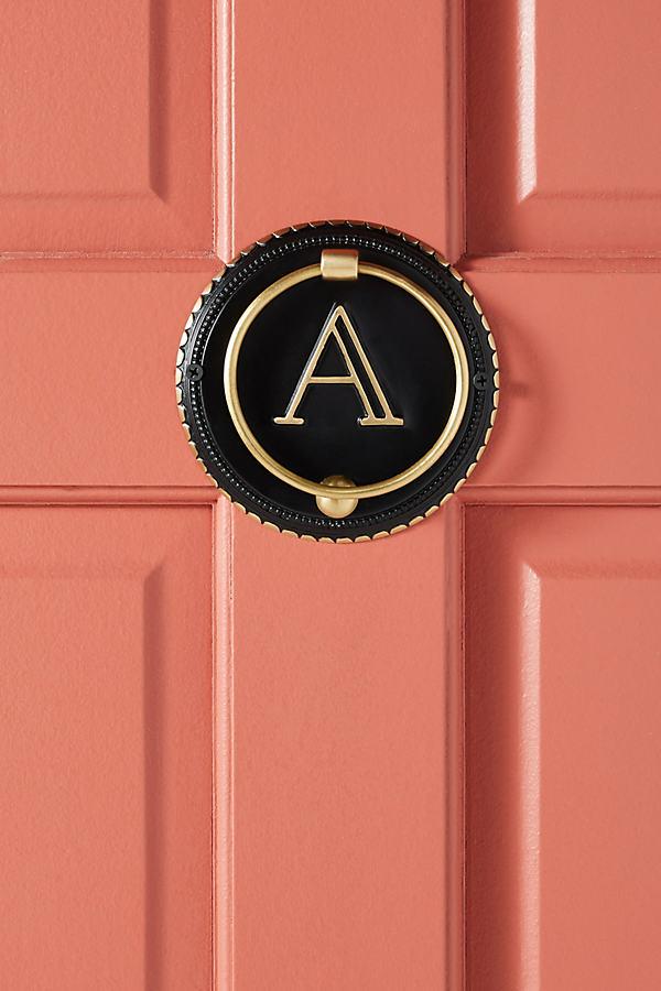 Nora Monogram Door Knocker - Assorted, Size P