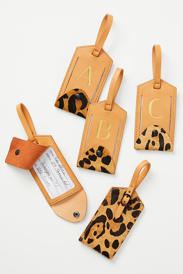 Animalia Monogram Luggage Tag - Assorted, Size W