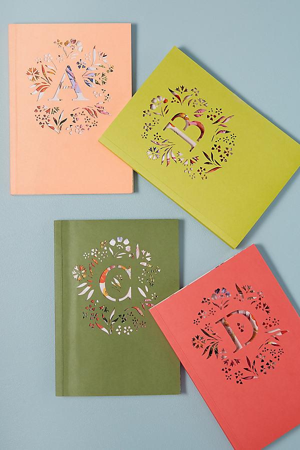 Gardenia Monogram Journal