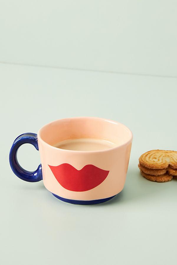 Clare V . For Anthropologie Maisonette Mug By . In Orange Size Mug/cup In Neutrals