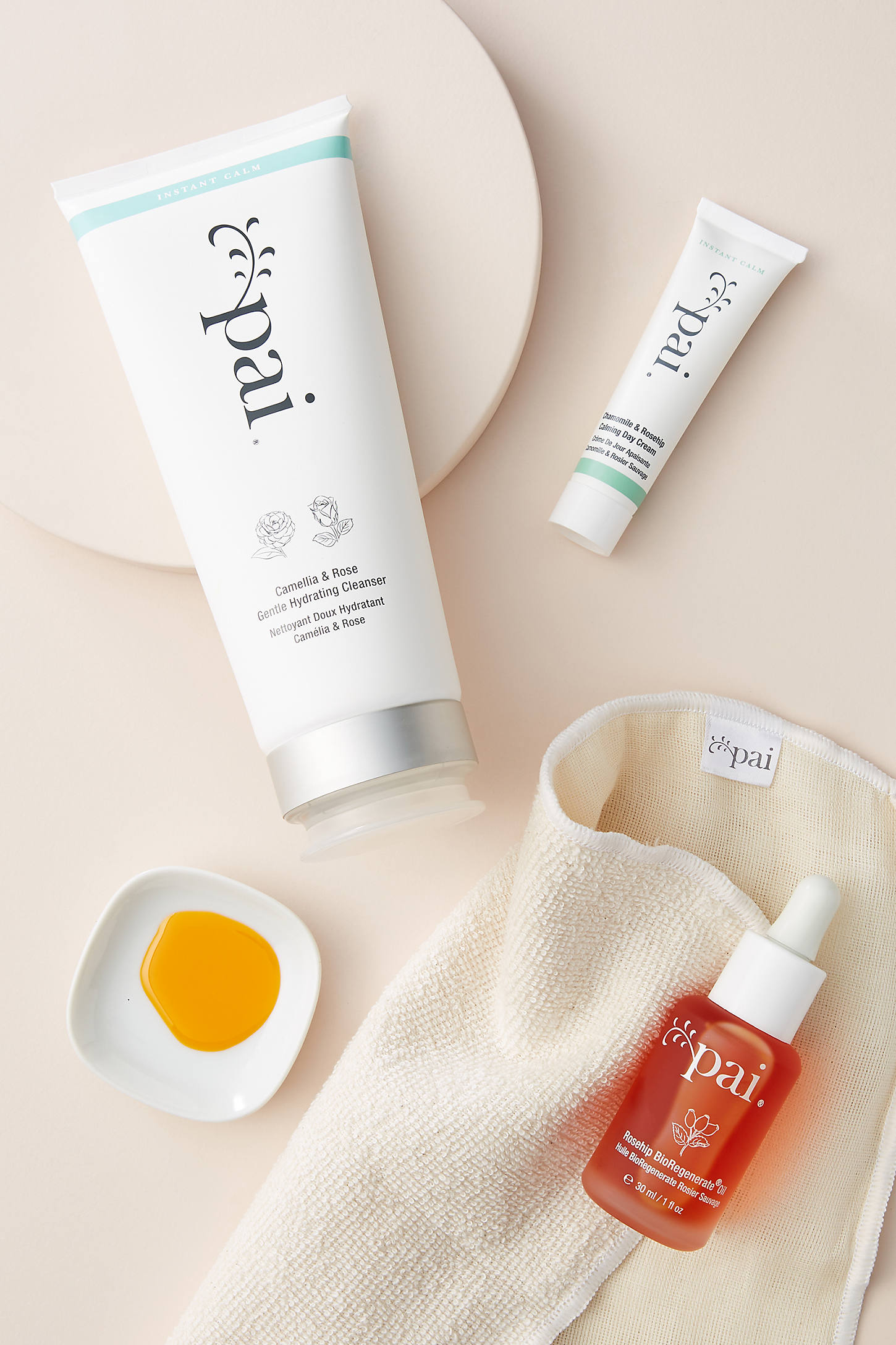 Pai Skincare Pai Natural Treasures Heroes Collection Gift Set In Green