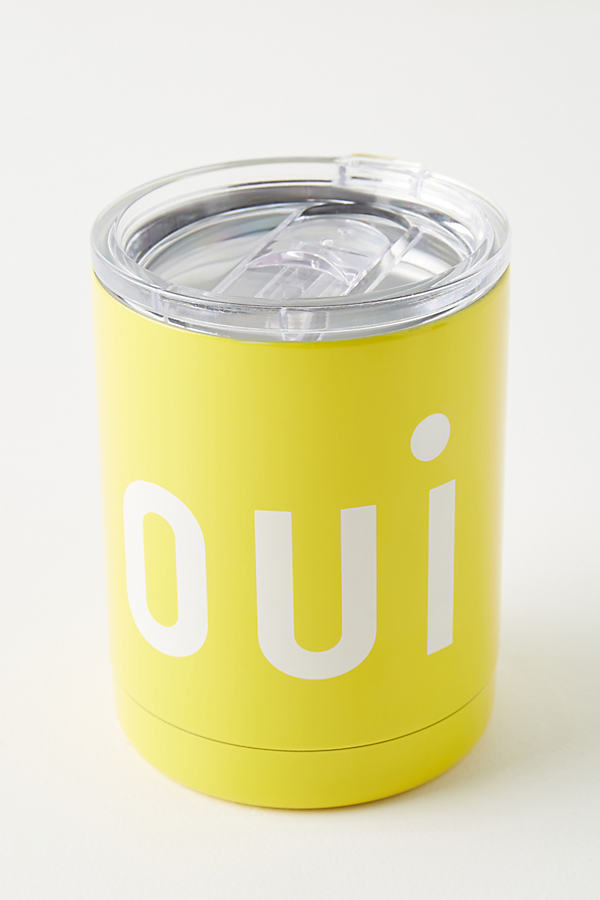 Clare V . For Anthropologie Francophile Travel Mug By . In Yellow Size One Size