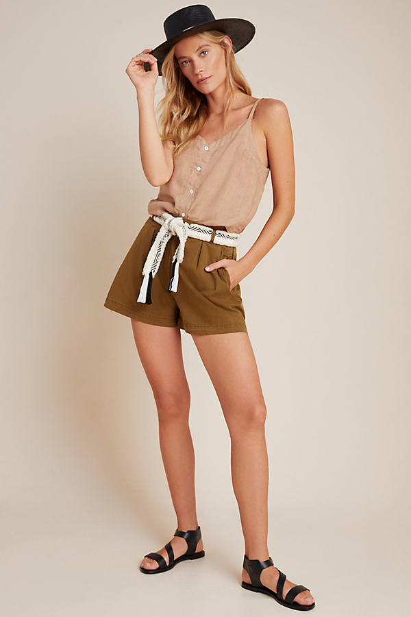 Kelyn Pleated City Shorts
