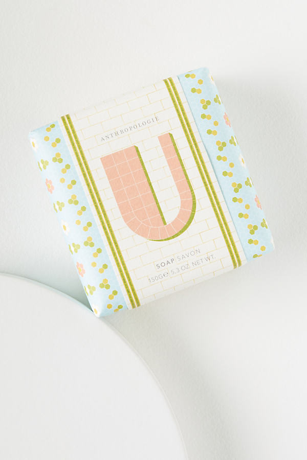 Monogram Spring Soap Bar