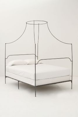 Campaign Canopy Bed Anthropologie