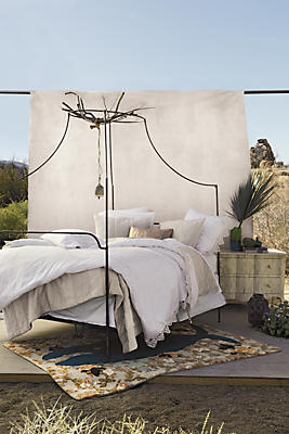 Canopy Bed campaign canopy bed | anthropologie