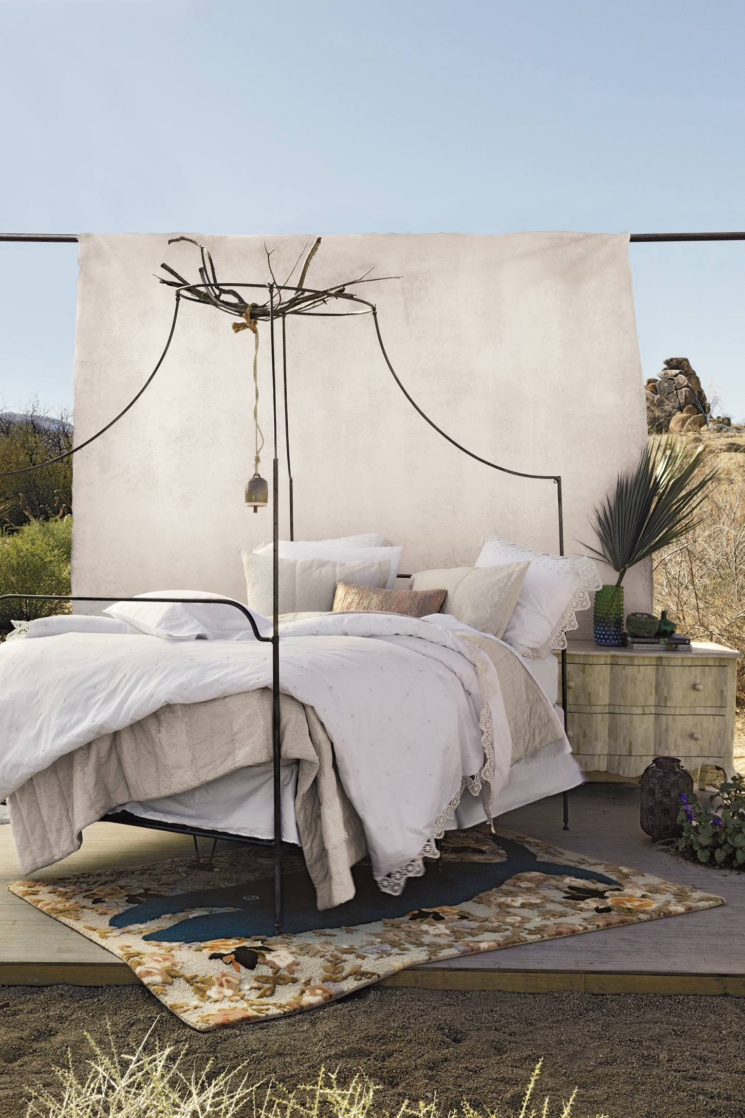 Slide View  2  Campaign Canopy Bed. Campaign Canopy Bed   Anthropologie
