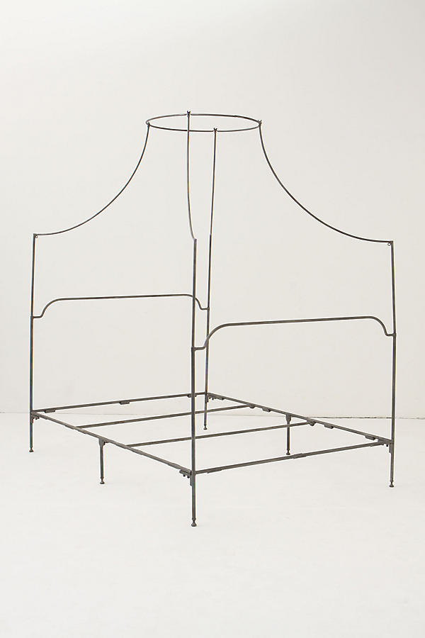 Slide View: 3: Campaign Canopy Bed